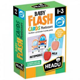 Headu Baby Flash Cards Montessori - L'Orso Dado
